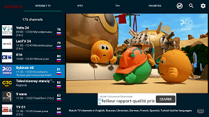 Availability of channels in ViNTERA TV Without Codes free - Exclusive SAT